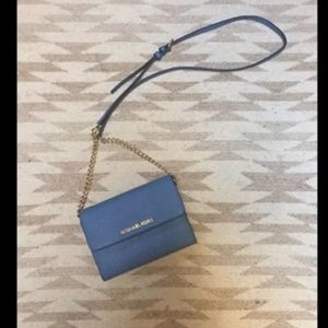MK Cornflower Blue Bag